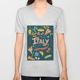 Missing Italy everyday poster Unisex V-Neck