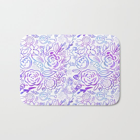A Profusion of Flowers Bath Mat