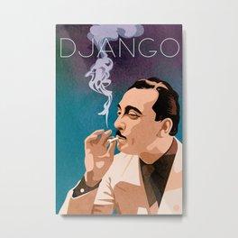 Django Reinhardt Metal Print
