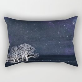 The Fabric of Space and the Boundary of Knowledge Rectangular Pillow
