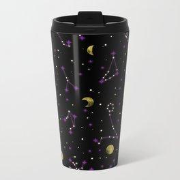 Galactic Pattern Metal Travel Mug