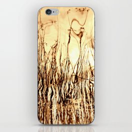 Where water meets fire iPhone Skin