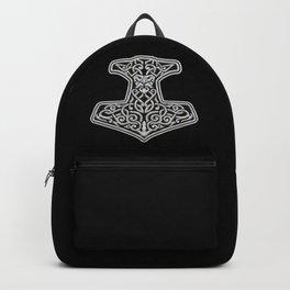 Thor's Hammer Mjolnir - Viking Warrior God Backpack
