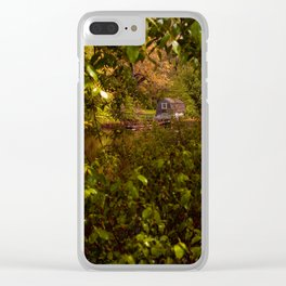 Aeolian Harp - Concord, MA Clear iPhone Case