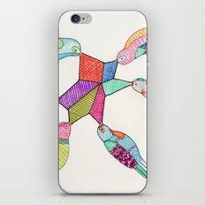 Pretty Birds iPhone & iPod Skin