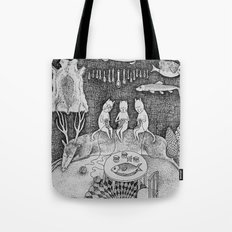 Knitting Cats Tote Bag