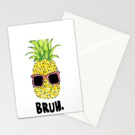 Bruh Stationery Cards