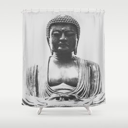Japanese Buddha Daibutsu Shower Curtain