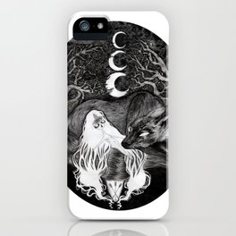 The Never Watchful iPhone Case