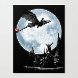 Toothless: The Night Fury Canvas Print
