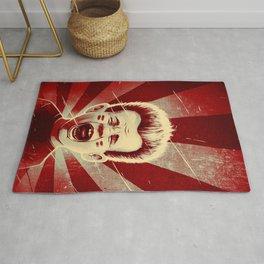 Red Noise Rug
