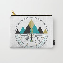 Start Your Journey Badge Carry-All Pouch