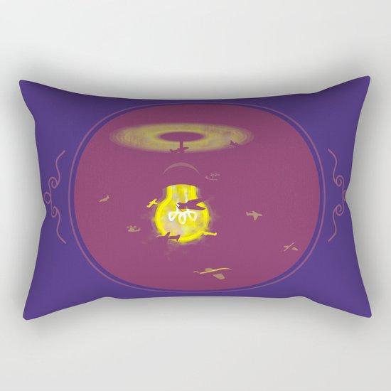 Around the Lamp Rectangular Pillow