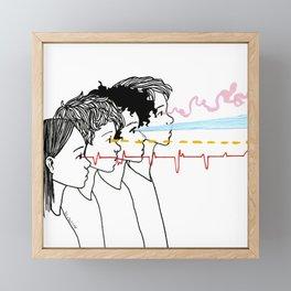 The Way We See Framed Mini Art Print