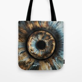 """WWP°282 """"Storm Of The Eye"""" Tote Bag"""