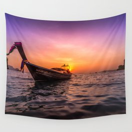 Longtail Sunset Wall Tapestry