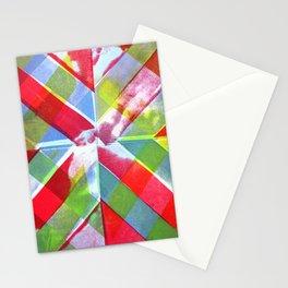 Log Cabin Print Stationery Cards