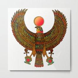 HORUS-EGYPTIAN DIETY Metal Print
