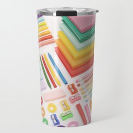 Rainbow office Travel Mug