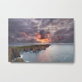 Tory Island sunset | Ireland Metal Print