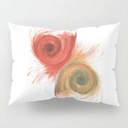 Dark Yin Yang Pillow Sham