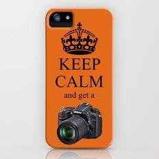 KEEP CALM NIKON D7100 iPhone (5, 5s) Slim Case
