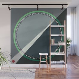 London - green circle Wall Mural