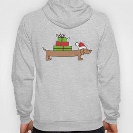 Dachshund Christmas shirt Hoody