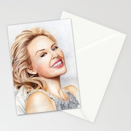Kylie Minogue Blonde Portrait Stationery Cards