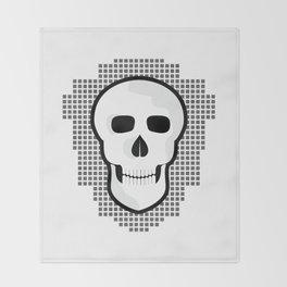 Skull  #society6 #decor #buyart #artprint Throw Blanket