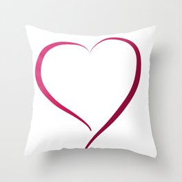 Heart in Style by LH Throw Pillow