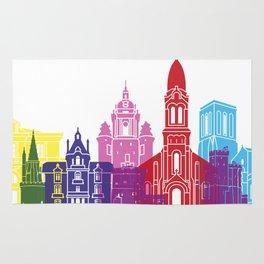 La Rochelle skyline pop Rug