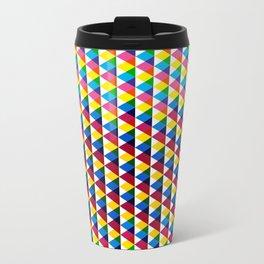 Triangle vintage multiply pattern Travel Mug