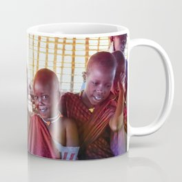 4239 Portrait of Young Maasai Children Coffee Mug