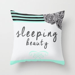 Love Beauty Throw Pillow
