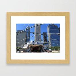 Jay Pritzker Pavilion, Millennium Park, Chicago Framed Art Print