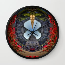 Loopholes Wall Clock