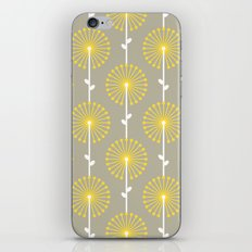 Yellow Lehua iPhone & iPod Skin