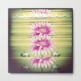 Flo-Flow-Flower  Metal Print