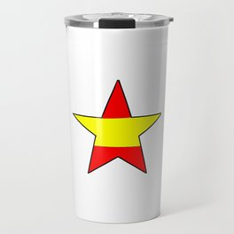 Flag of spain 12-spain,espana, spanish,plus ultra,espanol,Castellano,Madrid,Barcelona Travel Mug