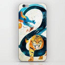 Dragon & Tiger iPhone Skin