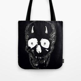 Devil Skull Tote Bag