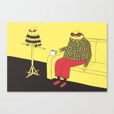 Owl Lookalike Canvas Print