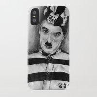 chaplin iPhone & iPod Cases featuring Chaplin by D.E.Pérez