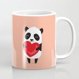 Panda love. Cute cartoon illustration Coffee Mug