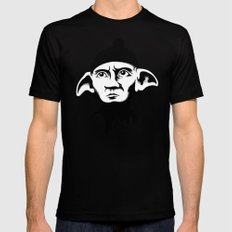 A Free Elf LARGE Mens Fitted Tee Black