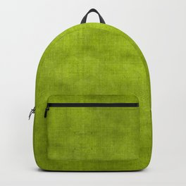 """""""Summer Fresh Green Garden Burlap Texture"""" Backpack"""