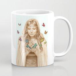 The Butterfly Girl Coffee Mug
