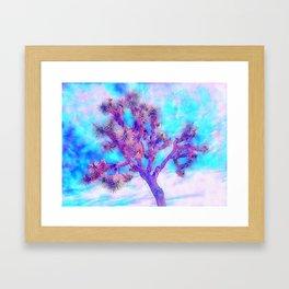 Joshua Tree Skies by CREYES Framed Art Print