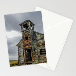 The Old Cottonwood Church, Montana Stationery Cards